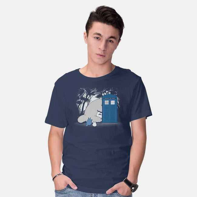 Curious Forest Spirits-mens basic tee-pigboom