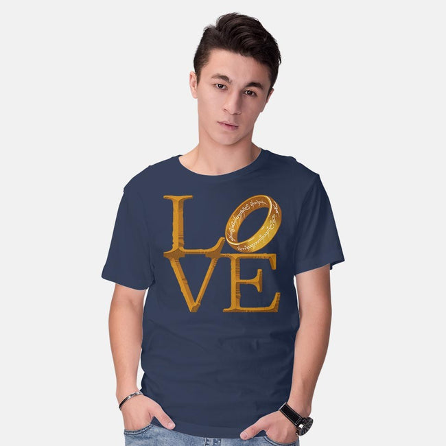 Love is Precious-mens basic tee-Cattoc_C