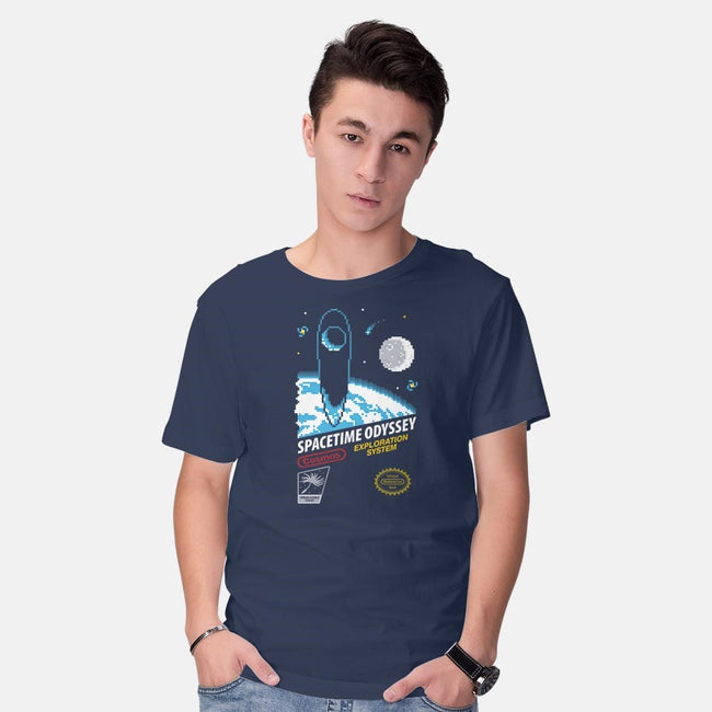 Spacetime Odyssey-mens basic tee-pacalin