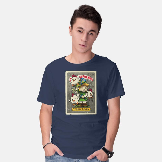 Stinky Linky-mens basic tee-Bamboota