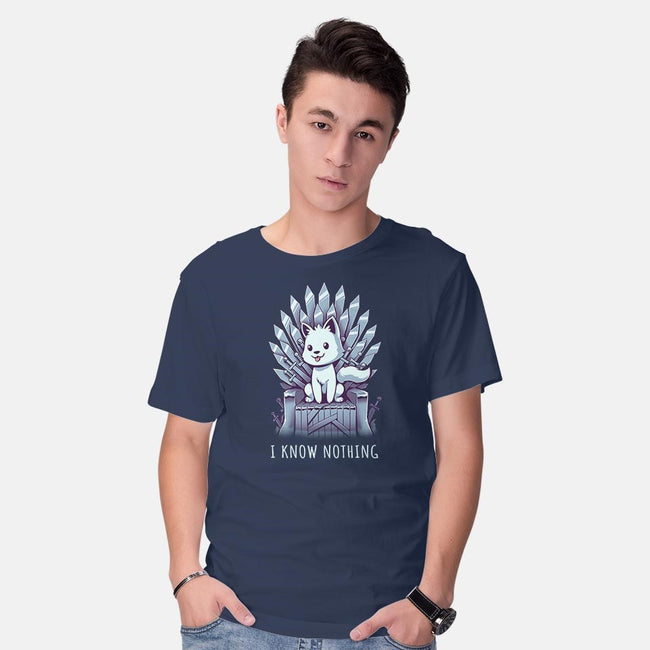 But I know Who's A Good Boy-mens basic tee-yumie