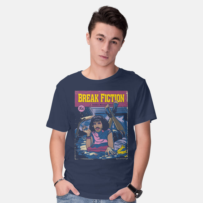I Want to Break Fiction-mens basic tee-Getsousa!