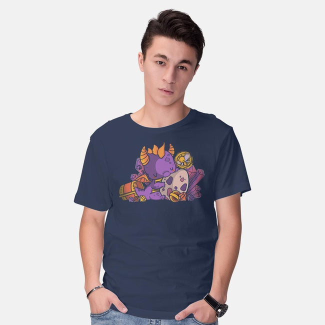 Lil Dragon-mens basic tee-TaylorRoss1