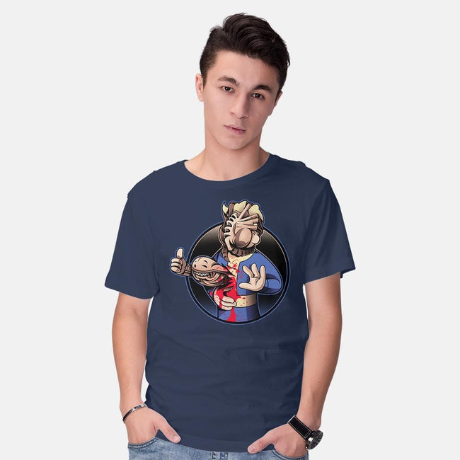 Alien Boy-mens basic tee-javiclodo