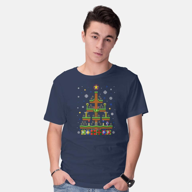 Green Hill Christmas-mens basic tee-stationjack