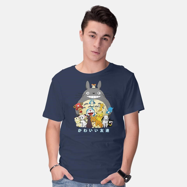 Kawaii Friends-mens basic tee-batang 9tees