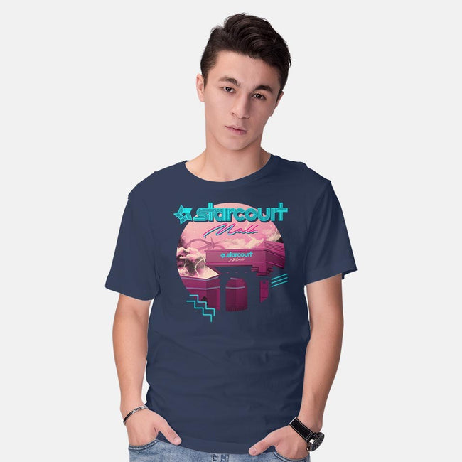 Strange Mall-mens basic tee-vp021