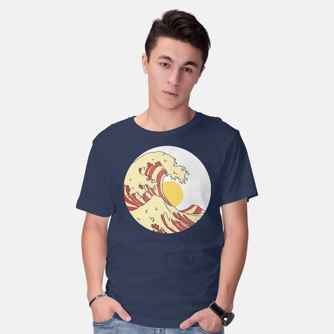 Great Breakfast-mens basic tee-ntesign