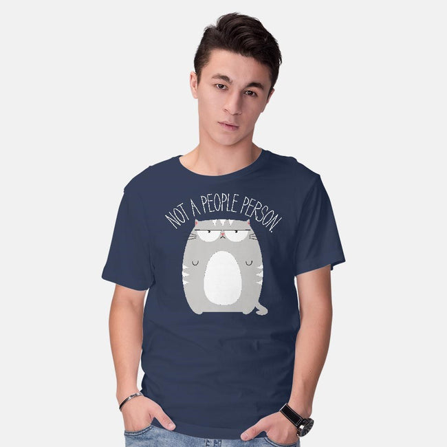 Not A People Person-mens basic tee-PolySciGuy