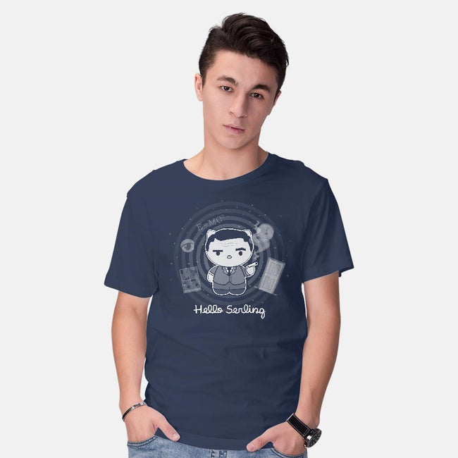 Hello Serling-mens basic tee-Azriel