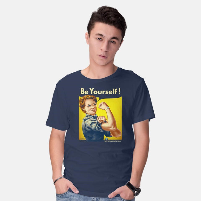 Barb Can Do It!-mens basic tee-KKTEE