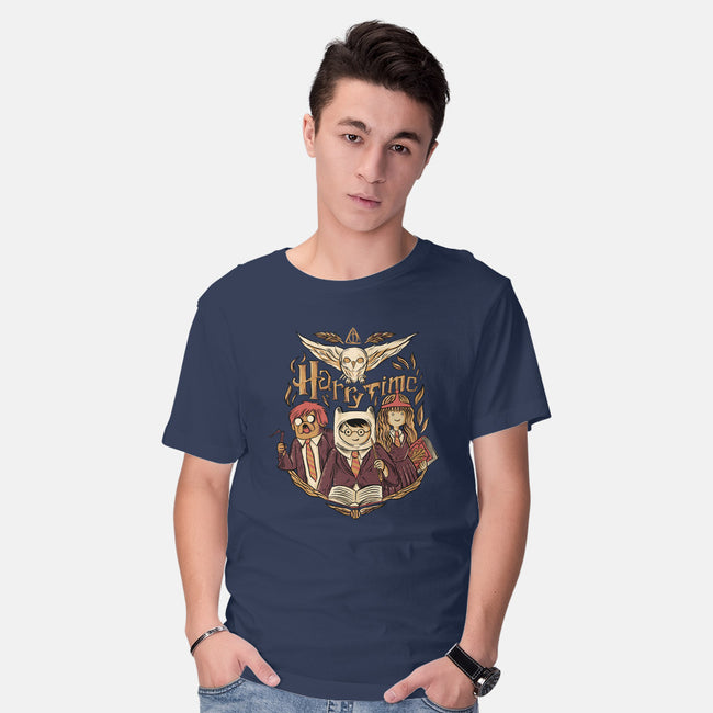 Harry Time-mens basic tee-yumie