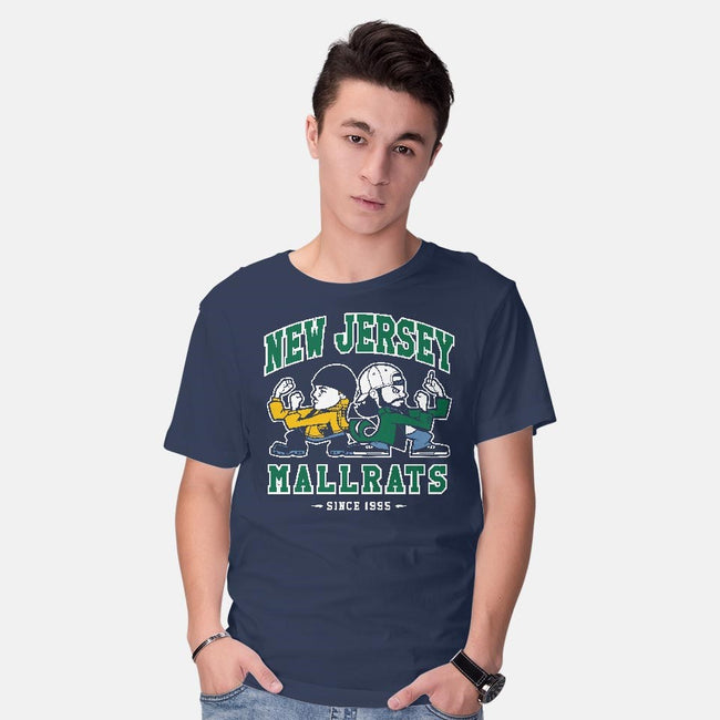 New Jersey Mallrats-mens basic tee-Nemons
