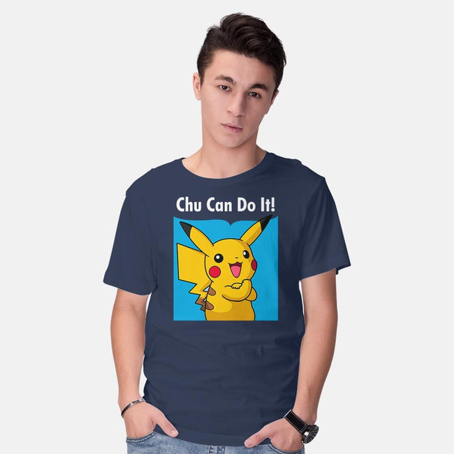 Chu Can Do It!-mens basic tee-Raffiti