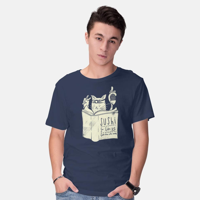 Sushi For Cats-mens basic tee-tobefonseca