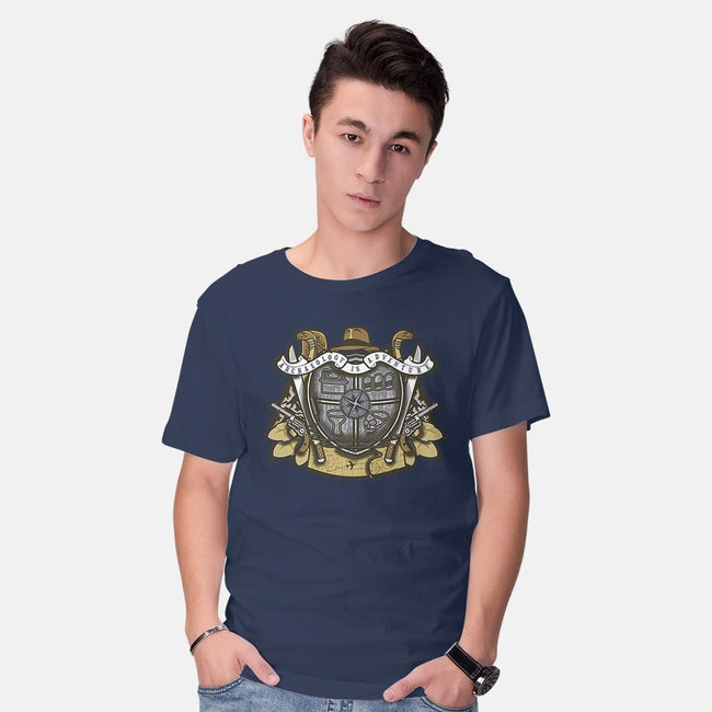 Adventurer's Crest-mens basic tee-Arinesart