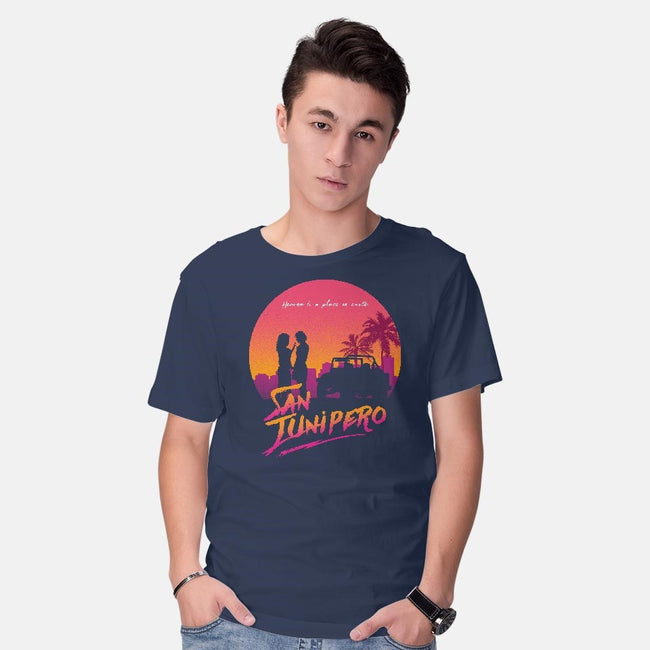 Here Love Lasts Forever-mens basic tee-ddjvigo
