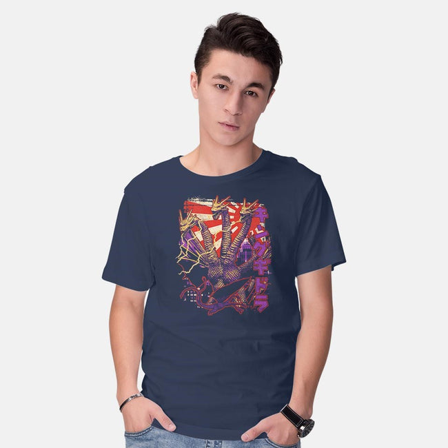 Triple Threat Pop-mens basic tee-cs3ink