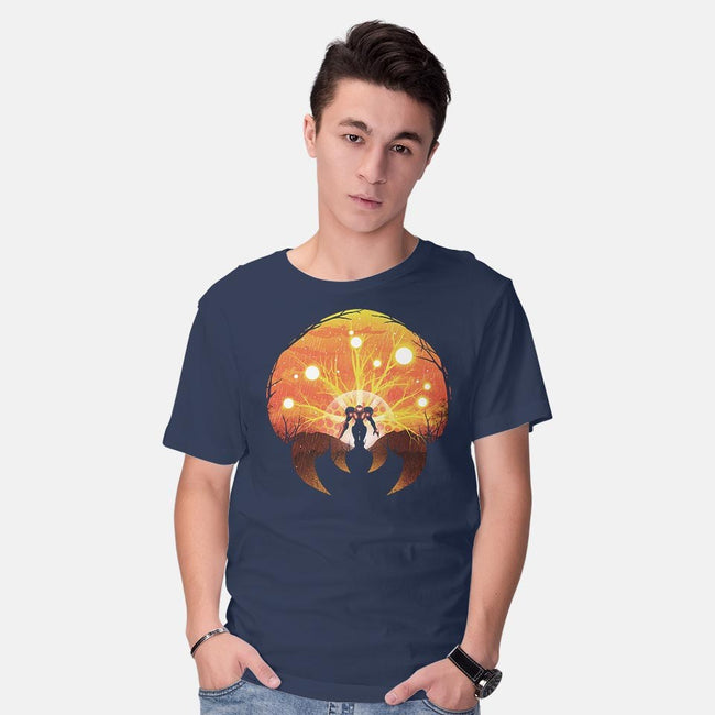 Super Metroid-mens basic tee-dandingeroz