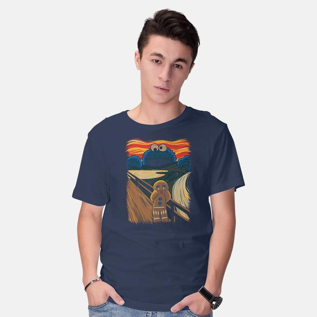 The Cookie Muncher-mens basic tee-IdeasConPatatas
