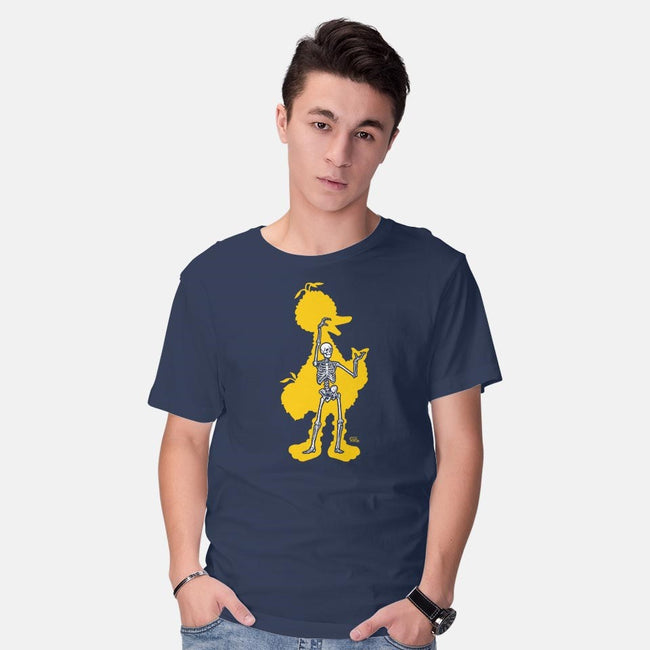 Bird X-Ray-mens basic tee-Captain Ribman
