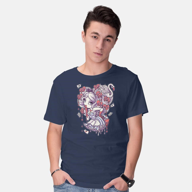 Painting The Roses Red-mens basic tee-Jehsee