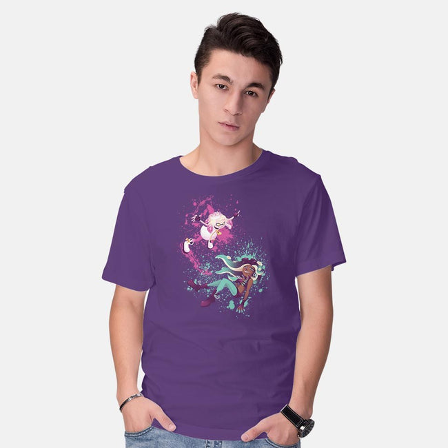 Squid Idols-mens basic tee-Kat_Haynes