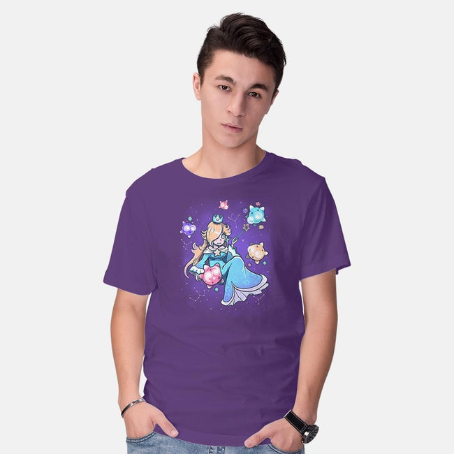 Cosmic Princess-mens basic tee-TechraNova