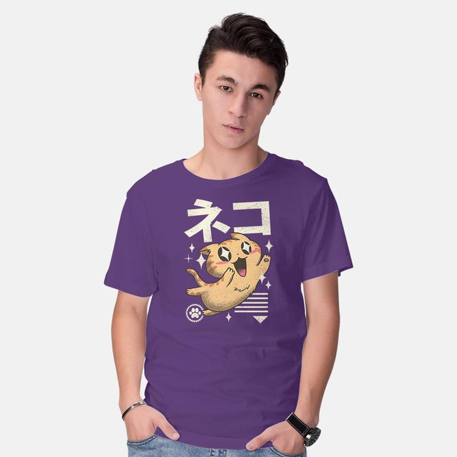 Kawaii Feline-mens basic tee-vp021