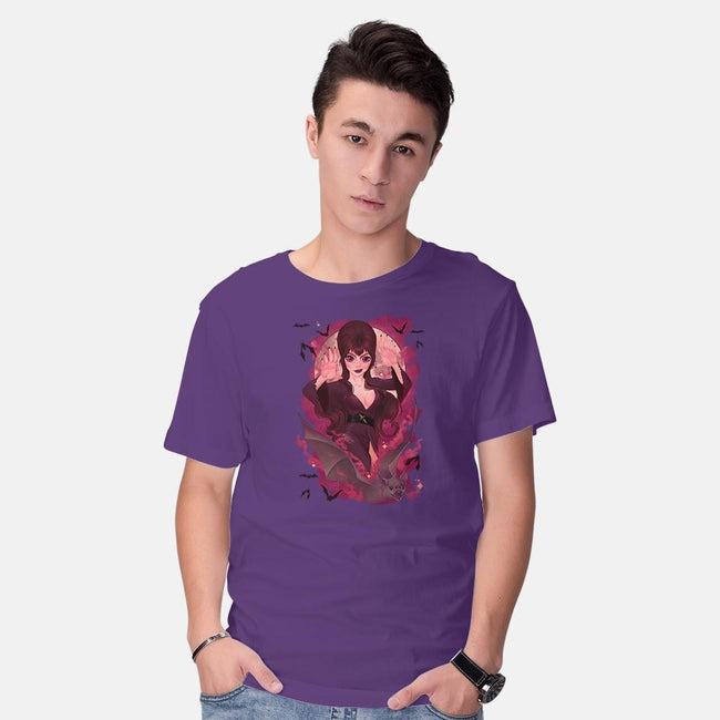 Dark Mistress-mens basic tee-fabiobottega