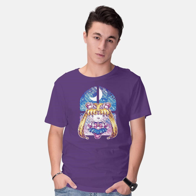 Hello Senshi-mens basic tee-GillesBone