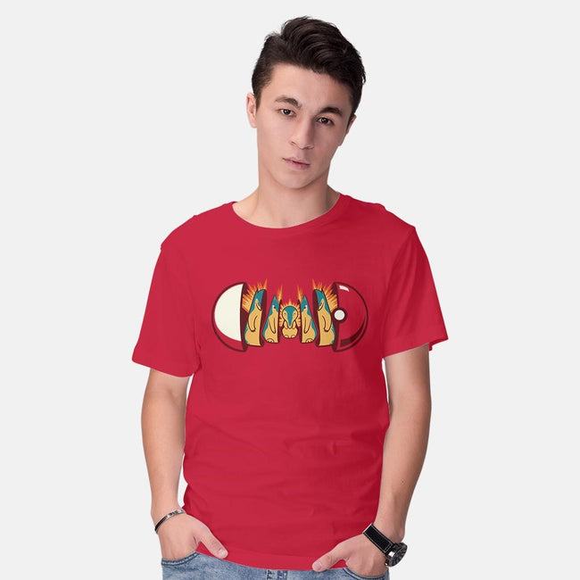 Fire Poketryoshka-mens basic tee-Michael Myers Jr.