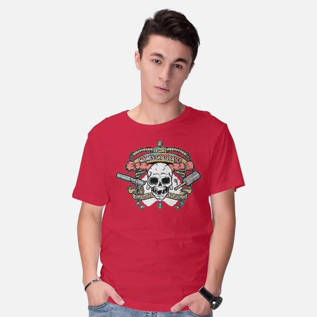 Mama's Sky Pirates-mens basic tee-aflagg