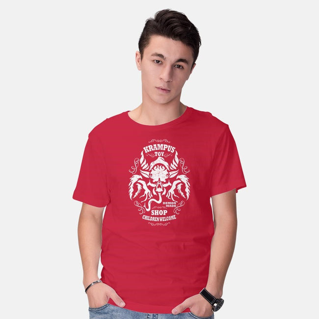 Krampus Toy Shop-mens basic tee-jrberger