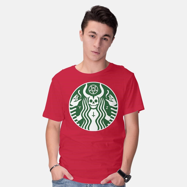The Red Cup-mens basic tee-Florey