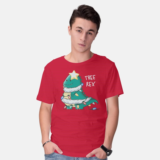 Tree-Rex-mens basic tee-TaylorRoss1