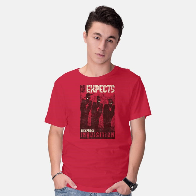 Nobody Expects Them!-mens basic tee-queenmob