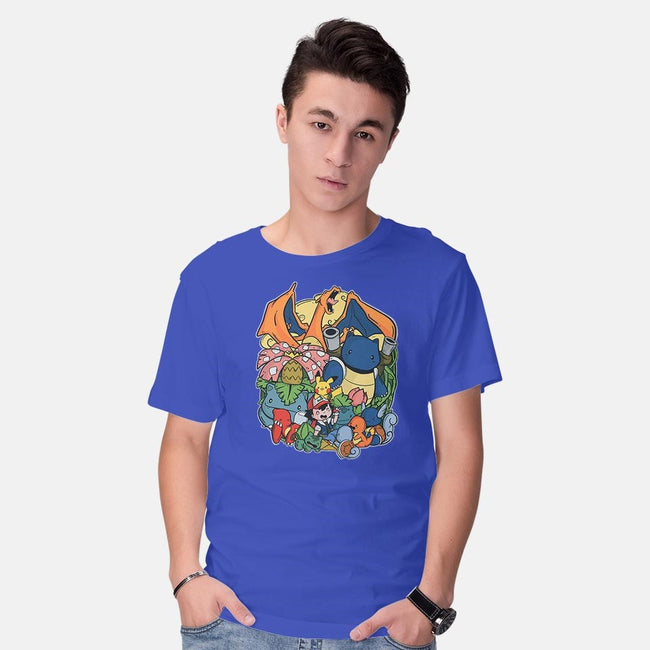 Pokefriends-mens basic tee-TaylorRoss1