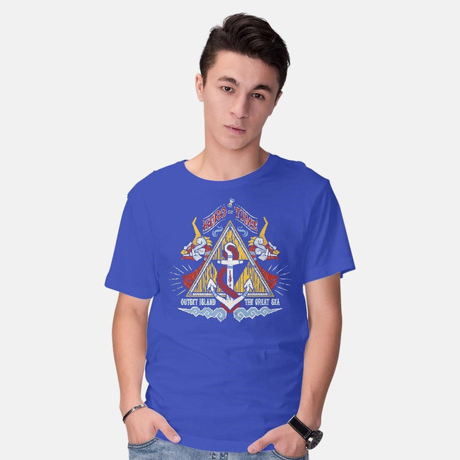 Hero Of Time-mens basic tee-Nemons