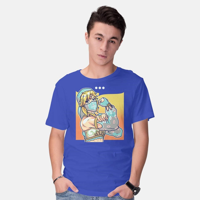 We Can Save Hyrule!-mens basic tee-AutoSave
