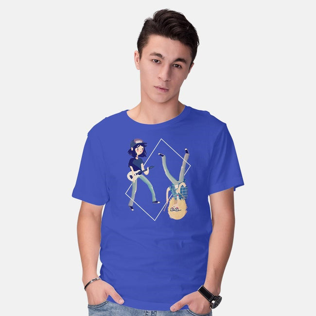 The Guitarist and the Drummer-mens basic tee-nanlawson
