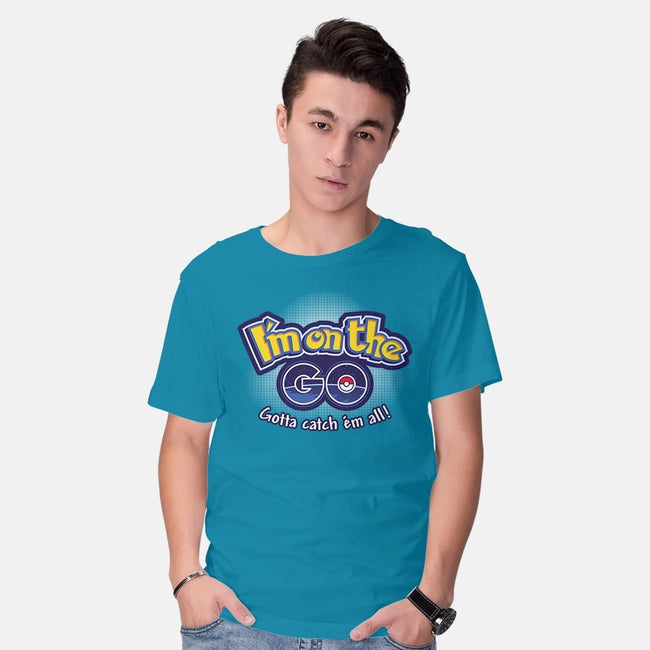 I'm on The GO-mens basic tee-inaco