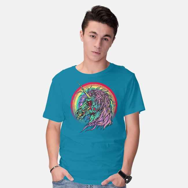 Unicorn Zombie-mens basic tee-RicoMambo