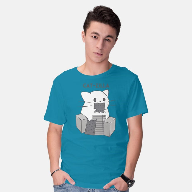 Kaiju Kitten-mens basic tee-Domii