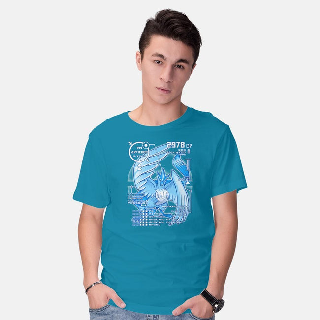 Legendary Blue-mens basic tee-KKTEE