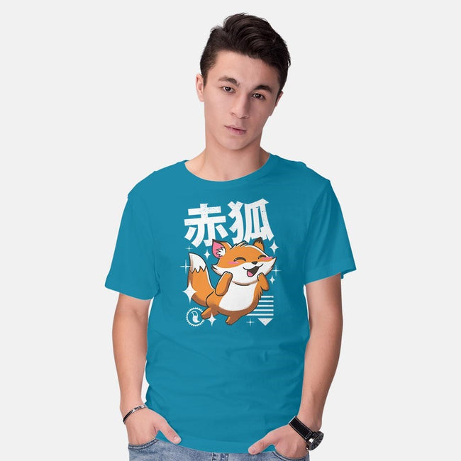 Kawaii Fox-mens basic tee-vp021