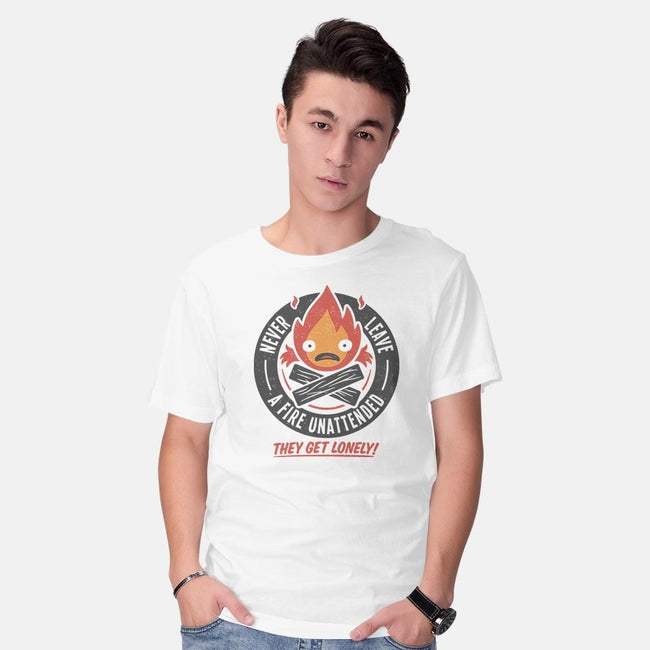 Lonely Fire Demon-mens basic tee-adho1982