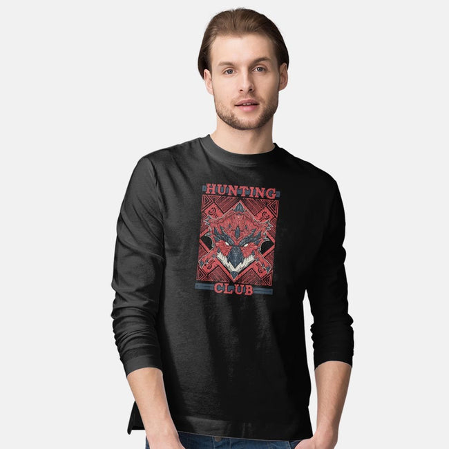 Rathalos-mens long sleeved tee-Melee_Ninja