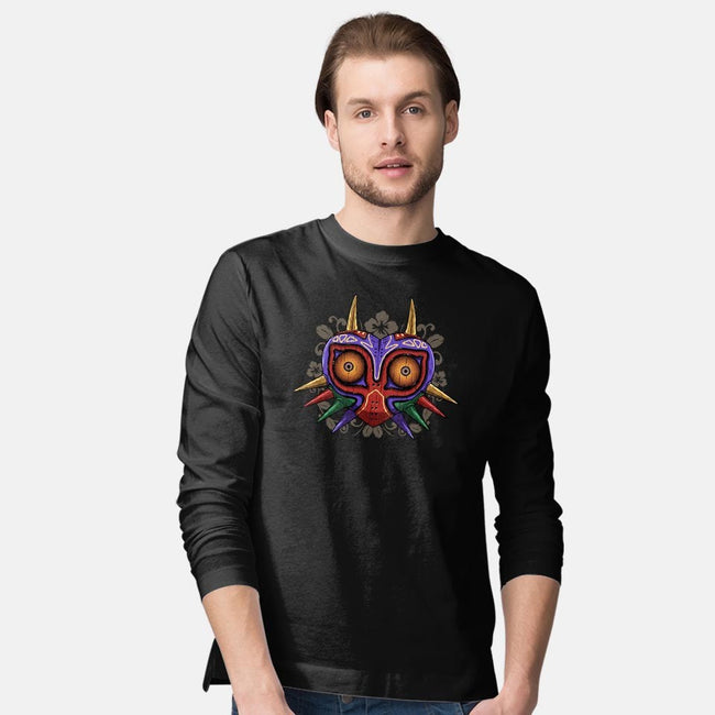 Legendary Mask-mens long sleeved tee-ducfrench