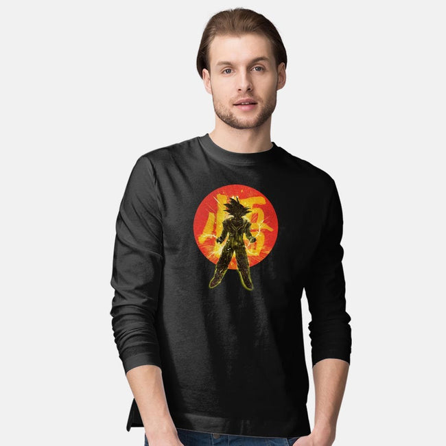 Red Dragon-mens long sleeved tee-kharmazero